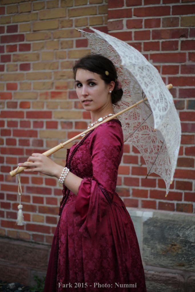 Mein Larp Charakter Arianna auf der Fark 2015