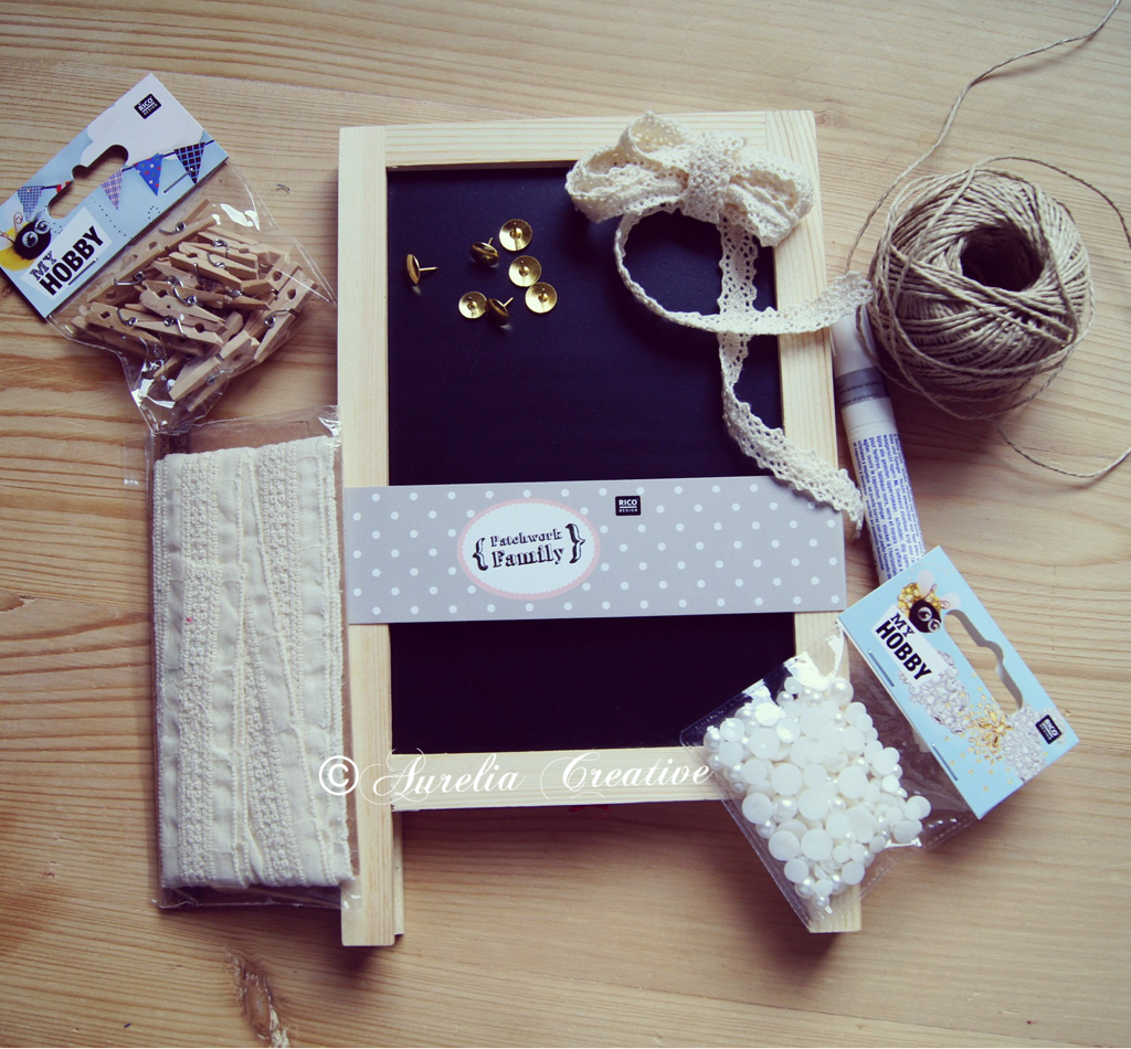 Muttertagsgeschenk – Ein kleines Memo-Board