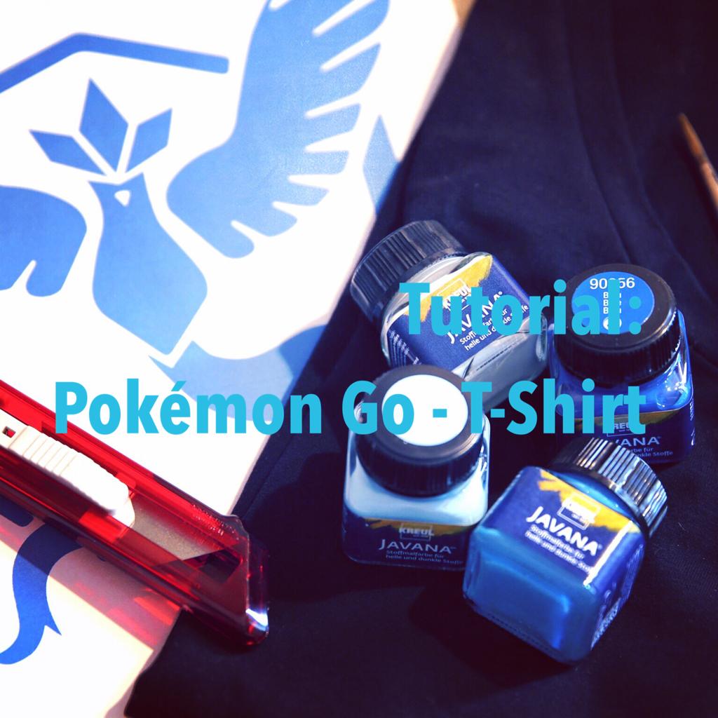 Tutorial: Pokémon-Go T-Shirt