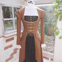 Aurelia Creative Steampunk Larp Outfit Kostüm Übersicht